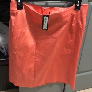 Coral business skirt never worn